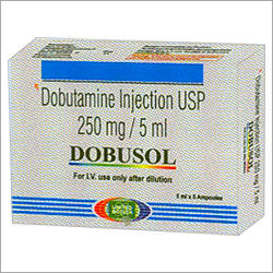 Dobutamine Injection USP 250 mg/5 ml