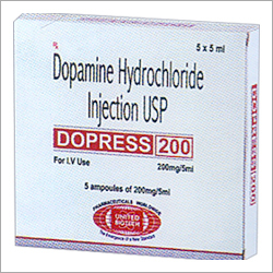 Dopamine Hydrochloride Injection USP 200mg