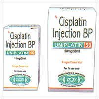 Cisplatin 10mg/50mg Injection