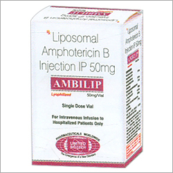 Liposomal Amphotericin B Injection IP 50mg