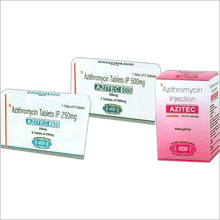 Azithromycin Tablets IP 250mg/ 500mg