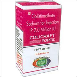 Colistimethate Sodium Injection IP 2 Million IU