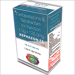 Cefoperazone Sodium 1g + Tazobactam 125 mg