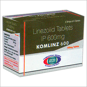 Linezolid Tablets IP 600mg
