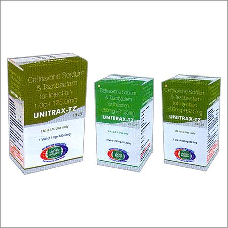 Ceftriaxone Sodium & Tazobactam for Injection