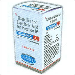 Ticarcillin Clavulanic Acid Injection IP / USP