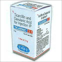 Ticarcillin Clavulanic Acid Injection IP / USP