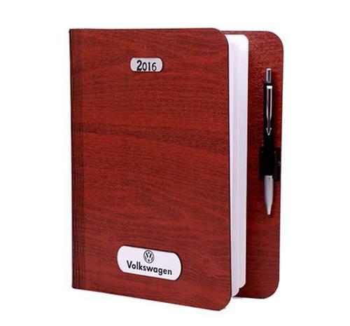 Volkswagen Diary With Pen