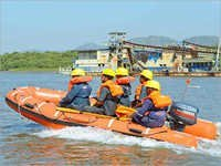 SAFIN 420 Inflatable Rescue Boat