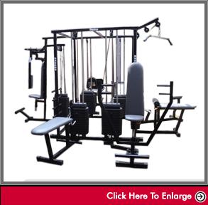 weight-training 4 Station multigym
