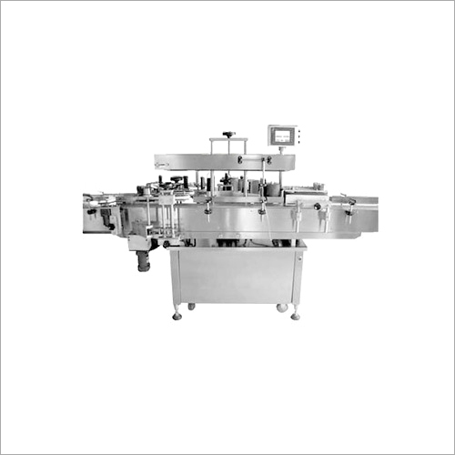 Round Bottle Sticker Labeling Machine