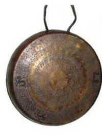 Antique Brass Gongs