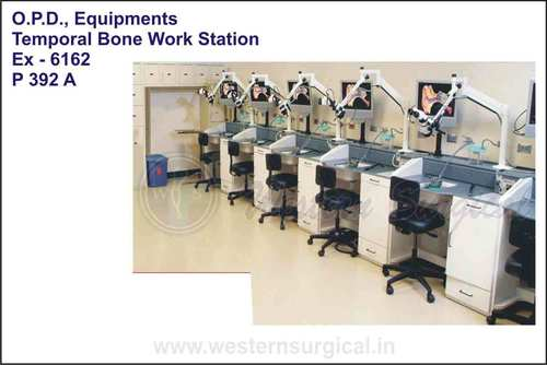 O.P.D. Equipments (Temporal Bone Work Station)