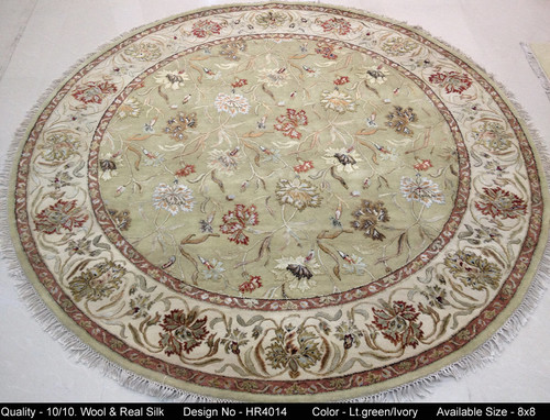 Traditional silk and wool rugs