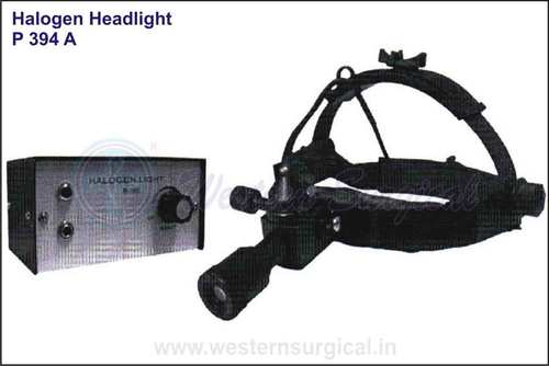 Halogen head light