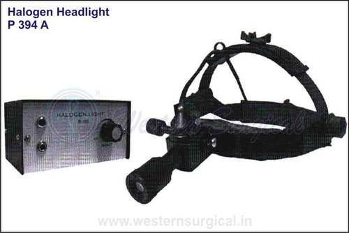Halogen head light