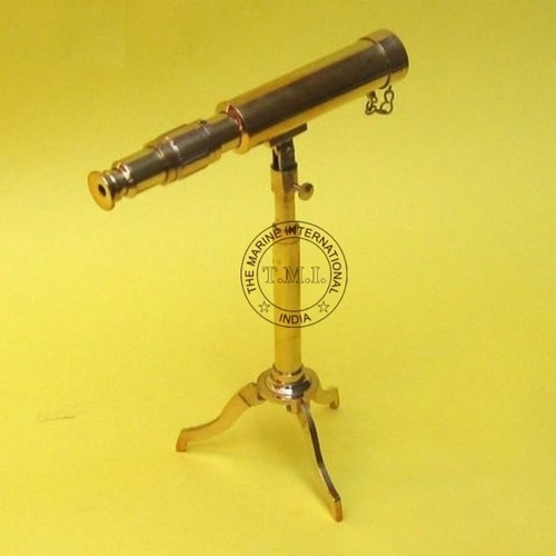 Full Brass Nautical Telescope