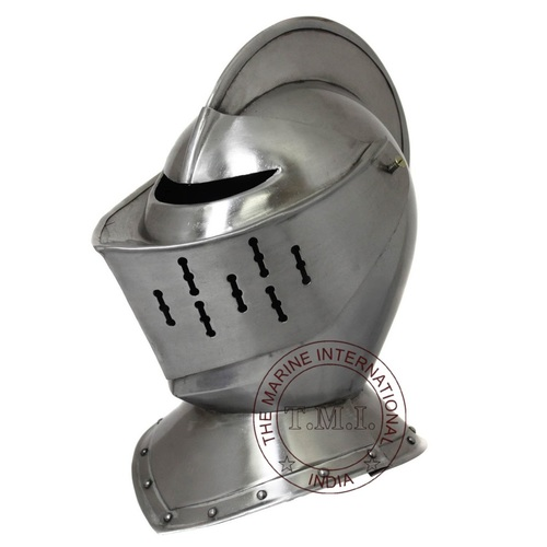Medieval Early Renaissance Armour Knight Helmet