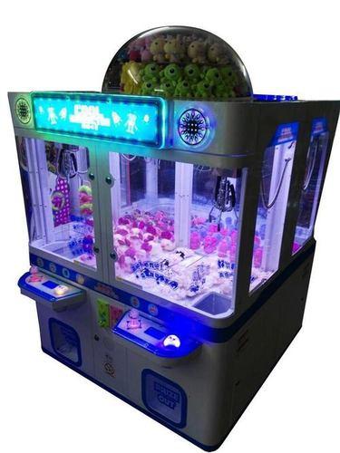 4 Players Toy Crane Game Machine