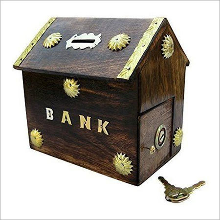 Desi Karigar Hut Shaped beautiful Piggy Bank