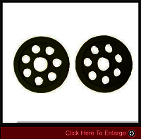 weight-lifting3 7 HOLE RUBBER COATED IRON PLATES