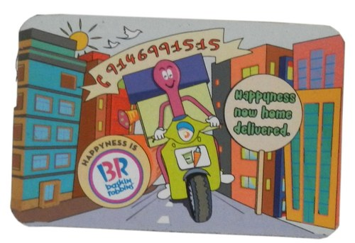 Happiness Now Home Delivered Magnet