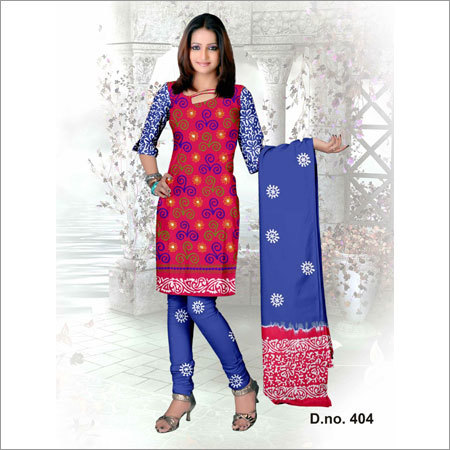 Unstitched Printed Cotton Suits