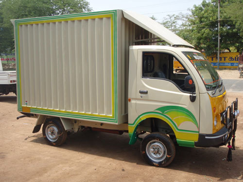 Tata Ace Container Body Fabrication
