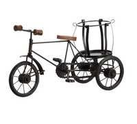 Desi Karigar Wooden Rickshaw Bottle Holder