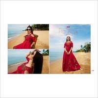 Shop Valentine Gown Style Kurti Online