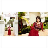 Buy Georgette Gown Style Kurti Online