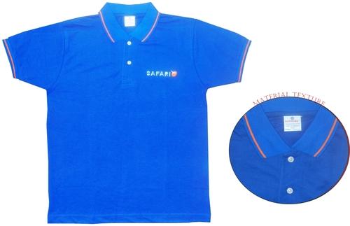 Cotton Side Slit Colour T-Shirt