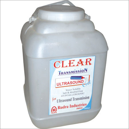 Ultrasound Gel Jar