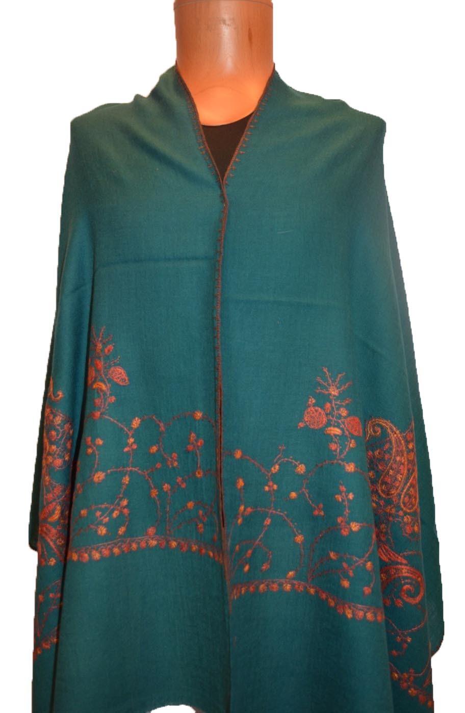 Woolen Sozni Palla Ladies Shawls