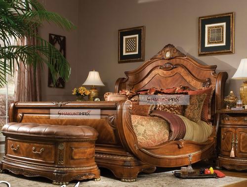 Antique Carved Bedroom Set