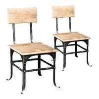 索还回收木头椅子