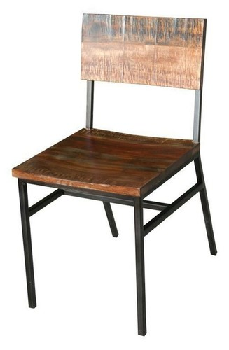 Wood-and-Metal-Dining-Chairs