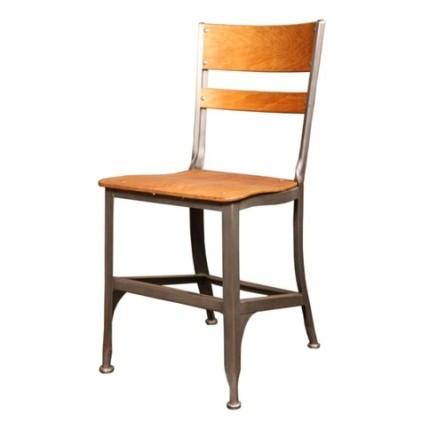 Vintage-Original-Industrial-Toledo-Wood-Metal-Chair