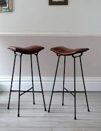 Vintage Brass Bar Stools