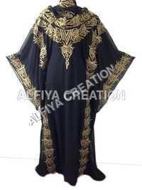 Heavy Embroidered Gorgeous Fancy Khaleeji kaftan