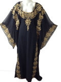 Heavy Embroidered Gorgeous Fancy Khaleeji kaftan
