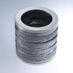 Dieformed Graphite Rings