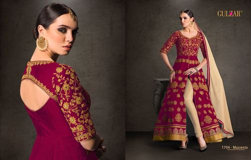 GULZAR (COLOUR RANGE) Straight Salwar Kameez Wholesale