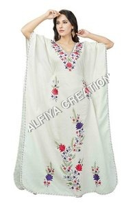 Evening wear cotton farasha kaftan