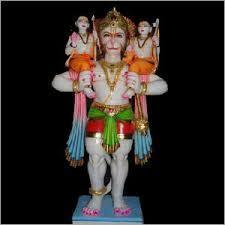 Moorti Ram Hanumaan Ji Statue