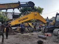 Hyundai R-210/ R-215/ R-220 Excavator Boom and Stick