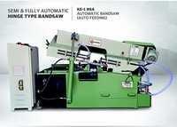Semi Automatic Hinge Type Bandsaw Machine