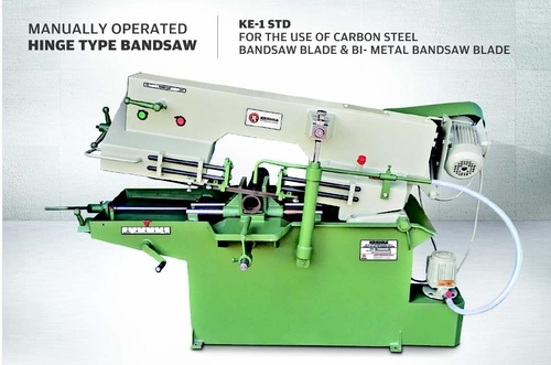 Manually Operated Hinge Type Bandsaw Machine