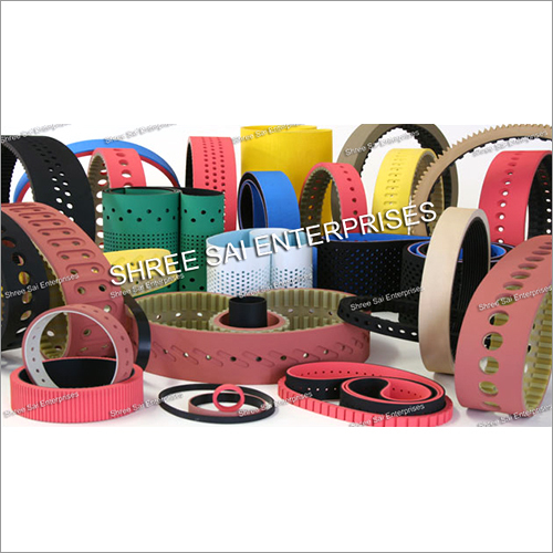 Paper Pulling Belt Rubber Coated