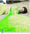 Green Lovely Georgette Casual Wear Saree
